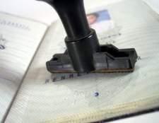 Como preencher formulário de candidatura não. 1 para um passaporte