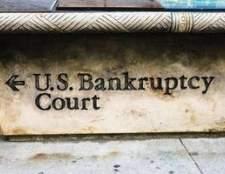 Como encontrar a limalha de registro de falência on-line