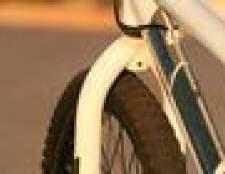 Como corrigir um giroscópio em uma bicicleta Haro