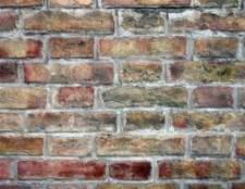 Como corrigir paredes de tijolo