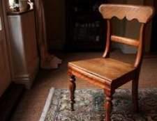 Como corrigir as pernas da cadeira