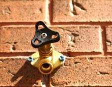 Como corrigir gotejamento válvulas torneira ao ar livre