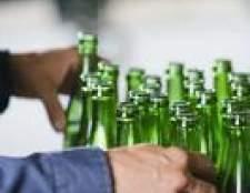 Como corrigir explodir garrafas de cerveja