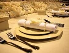 Como dobrar guardanapos para um jantar formal