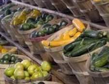 Como congelar legumes e frutas frescas