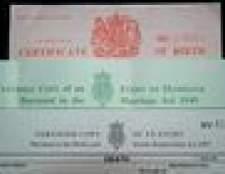 Como obter uma certidão de nascimento de substituição on-line