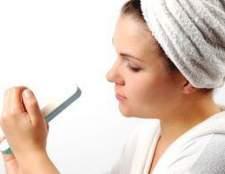 Como chegar tintura de cabelo off unhas