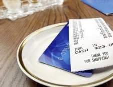 Como obter recibos de compras em um restaurante