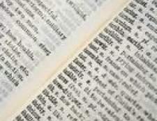Como identificar palavras modificados por advérbios