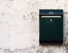 Como instalar uma caixa de correio em uma parede de estuque