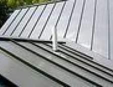 Como instalar um telhado de metal pé costura