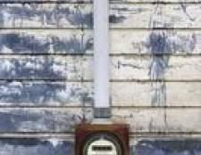 Como instalar um medidor elétrico temporário