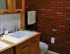 Como instalar um banheiro em um canto