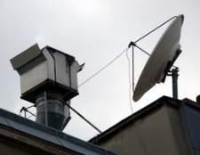 Como instalar uma antena parabólica LNB triplo