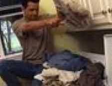 Como instalar armários em uma lavanderia