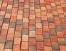 Como instalar afiação para pavimentação de tijolo