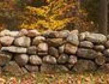 Como instalar muros de contenção com pedras naturais