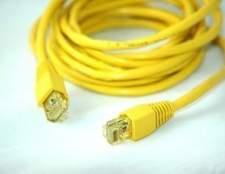 Como aderir cabos Cat 5
