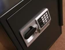 Como manter documentos seco em uma caixa de segurança em casa Brinks