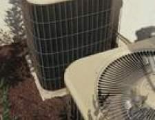 Como manter as folhas fora de um ar condicionado central