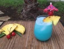 Como fazer um cocktail havaiano azul