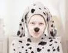 Como fazer um dalmatian traje de halloween