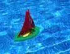 Como fazer um modelo de barco que flutua