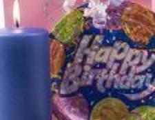 Idéias sobre como dar uma festa de aniversário 60