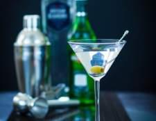 Como fazer um vodka martini