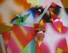 Como fazer um cartão de origami