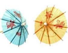 Como fazer guarda-chuvas do papel chinês