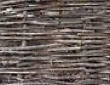 Como fazer cercas de salgueiro