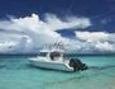 Como caminhar um barco bimotor
