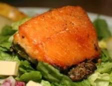 Como microondas salmão congelado
