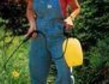 Como misturar herbicida borracha