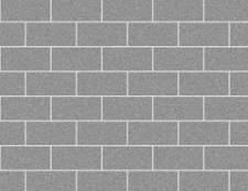 Como argamassa de uma parede de blocos de concreto