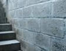 Como argamassa um bloco de concreto