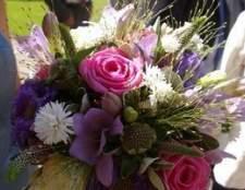Como encomendar flores do casamento