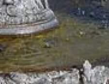 Como pintar uma fonte de água de resina