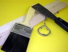 Como pintar sobre semi-brilho acabamento em madeira