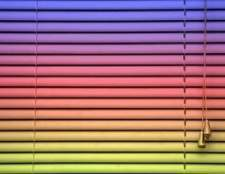 Como pintar vinil mini cortinas