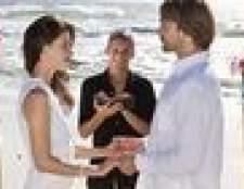 Como planejar um casamento pequeno única