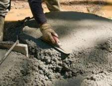 Como a derramar um piso de concreto nas seções