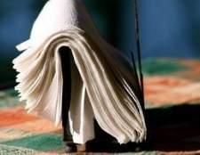 Como imprimir em guardanapos de papel