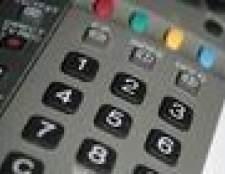 Como programar um controle remoto universal à minha tv