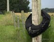 Como proteger mourões de madeira de podridão