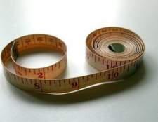 Como ler uma fita métrica de costura