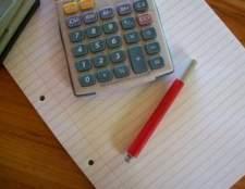 Como gravar finanças em um livro ou em um computador
