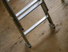 Como reciclar escadas de alumínio