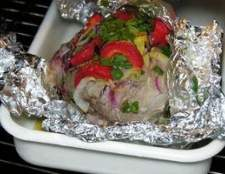 Como reaquecer porco assado fatiado sem molho